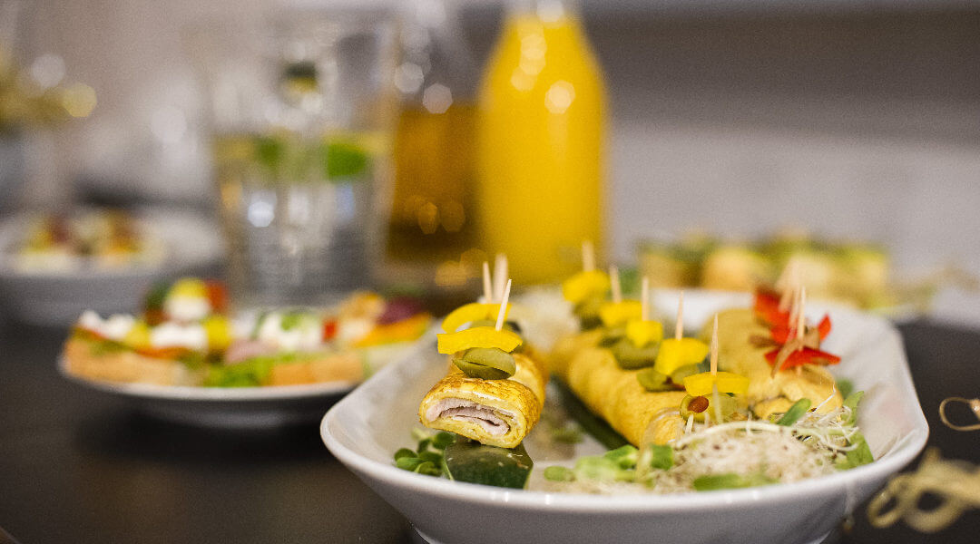 Catering I-view Meetings