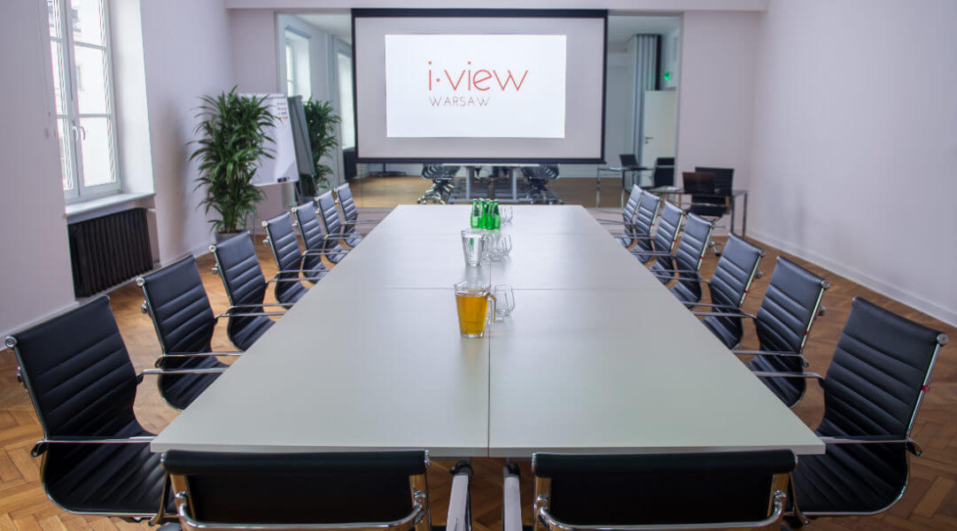 Sale konferencyjne i-view Meetings